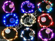 30 LED CR2032 Battery 3m SW String Light ON/FLASH MODE 9 Colour UK Seller/Stock