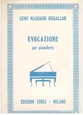 Gemy Mascagni Risgallah: Evocazione Per Pianoforte - Curci