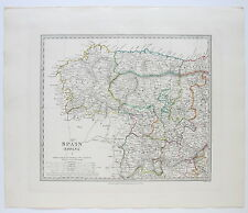 SDUK MAP SPAIN I ESPANA 1831 PUBLISHED 1844