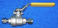 "Parker 4A-LB4L-T-SS 1/4"" Ball Valve with locking handle"