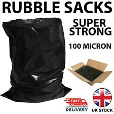 More details for rubble sacks builders waste rubbish bags strong tough heavy duty bulk savings