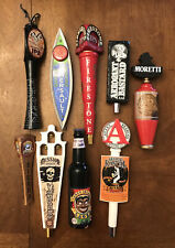 Beer Tap Handle Lot Of 9 Avery Brewing Moretti Raging Bitch Coney Island Mission