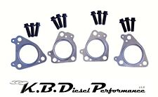 Exhaust Up Pipes Manifolds Turbo Gasket Kit 6.6l Duramax Chevy GMC 01-16 LB7-LML