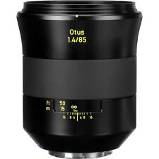 Novo em folha Carl Zeiss Otus Apo Planar T * 85mm F1.4 ZE Retrato Lente Canon EF Hood