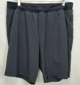 Lululemon Mens Black Workout Training Active Shorts Size XL Lightweight 9.5