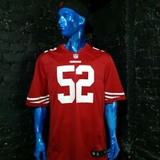 NFL San Francisco Jersey 49ers WILLIS #52 American Football Premier Nike Mens XL