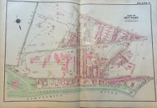 1925 PHILADELPHIA PA ACADEMY OF THE ASSUMPTION EAST FALL STATION PLAT ATLAS MAP
