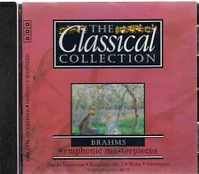 The Classic Collection-Brahms Symphonic Masterpieces CD