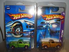 """Hot Wheels-CUSTOM '69 CHEVY """"Red Lines""""-with 2 Protecto-Paks"""