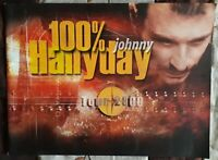 Johnny Hallyday programme concert Tour 2000 100% -  50 pages couleurs - TBE