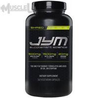 JYM Shred Jym - 240 Capsules - Fat Burner Acetyl-L-Carnitine Dr Jim Stoppani