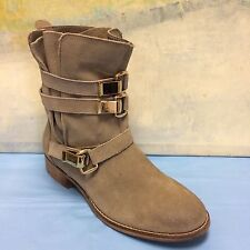 STEVE MADDEN HAGGLE GRAY Ankle Boots Size 7M