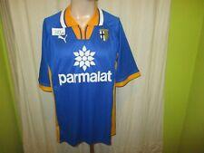 """Parma AC,FC Parma Puma Auswärts Muster Trikot 1998/99 """"parmalat"""" Gr.L Neu"""