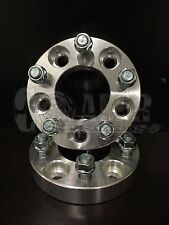 """2 pcs 1"""" Inch 5x120 Wheel Spacers 25mm Adapters 12x1.5 Studs 318 323 325 328 330"""