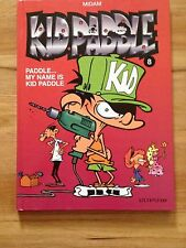 """Kid Paddle... My name is Kid Paddle"" (#8) Comic Book in French Language"