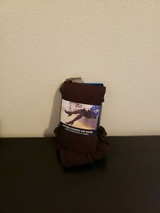 GEORGE Pattern Control Top Tights Solid Brown Cafe Knit Size 4