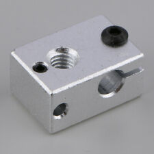 V6 Aluminum Heater Heat Block Kit For 3D Printer Extruder Hot End Accs