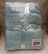 Windsor 6-Piece Towel Bale - 100% Egyptian Combed Cotton - Teal - Ideal Gift
