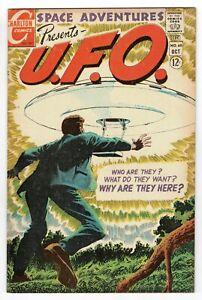 Charlton Space Adventures Presents UFO - No 60 1967 SCARCE!
