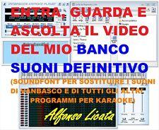 LE BASI MIDI KARAOKE DI VANBASCO ED ALTRI SUONERANNO COME MP3 COL MIO SOUNDFONT!