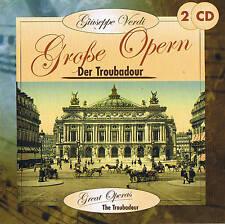 "GIUSEPPE VERDI ""Der Troubadour"" Grande Opern 2 CD Box NUOVO & CONF. ORIGINALE"