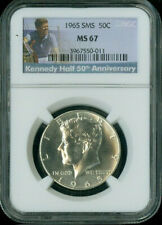 1965 KENNEDY HALF NGC MS67 SMS DEAL