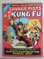 SAVAGE FISTS OF KUNG FU SHANG CHI Marvel Treasury Edition 1975 ***FREE UK PPH***