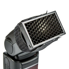 Flash Honeycomb Grid Spot Filter Background for Canon Nikon Speedlight Softbox