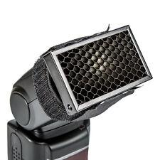 Flash Honeycomb Grid Spot Filter Hintergrund für Canon Nikon Speedlight Softbox@