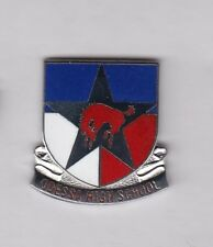 US Army JROTC Odessa High School, Texas crest DUI badge S-21