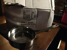 6 Bon Chef Small Stainless Steel Single Serving Side Pan