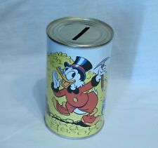 Uncle Scrooge vintage metal tin saving bank - R Walt Disney 5inch unopened can