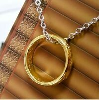 Lord of the Rings LOTR Hobbit Necklace Ring Amulet Celtic Pendant UK POST A005