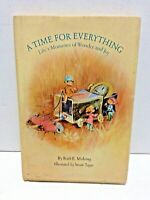 1971 A Time for Everything Moments of Wonder & Joy Hardcover Rare Hallmark Cards