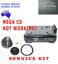 SEGA Mega CD Service Kit Repair Fuse Drive Belt ML2016 Battery with socket
