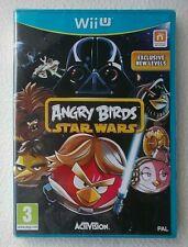 Angry Birds : Star Wars ~ Nintendo Wii U ~ Brand New & Sealed
