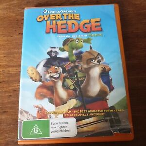 Over The Hedge Dreamworks DVD R4 Like New! FREE POST