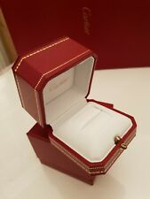 GENUINE CARTIER RING BOX with outer box