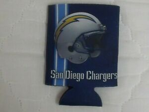 San Diego Chargers (National Football League) Bud Light Beer 12 oz can koozie
