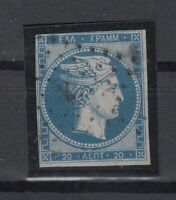 K3691/ GREECE – HERMES - MI # 3 USED – CV 165 $