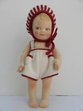 "UFDC 2003 R. John Wright Peppermint Pal Felt 6"" Kewpie Doll MIB 016/300"