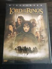The Lord of the Rings: The Fellowship of the Ring (DVD, 2002, 2-Disc Set, New
