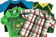 Shirts Boys Size 3T Short Sleeve 4 Piece Lot Nickelodeon Wonder Kids Tops