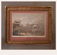 "French Gilt Wood ""Palmette"" Frame, 1st Half 19th Cen.,52 cm h, 63 cm w"
