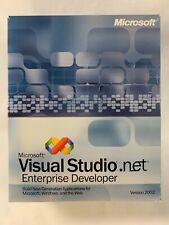 Microsoft VISUAL STUDIO.net Enterprise Developer Version 2002