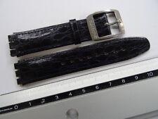 Swatch Lederband Armband AYAS403 Irony Automatic YAS403 Heracles - 17mm Leder