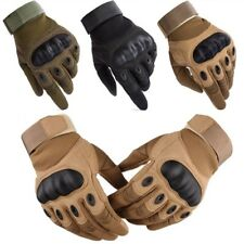 Men's Carbon Knuckle Protection Motorbike Motorcycle Gloves Armoured MX Cruiser