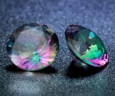 Round Cut Cubic Zirconia Stones  Middle Synthetic Gems MULTI COLOUR 8MM x 6 pcs