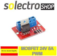Controlador IRF520 PWM Mosfet 24V 5A Motor LED Luces Arduino Raspberry Pi A0022