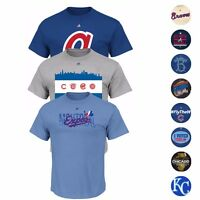 MLB Majestic Various Team Graphic Wordmark T-Shirt Collection Men's
